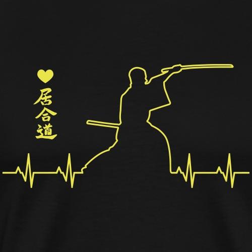 iaido - Camiseta premium hombre