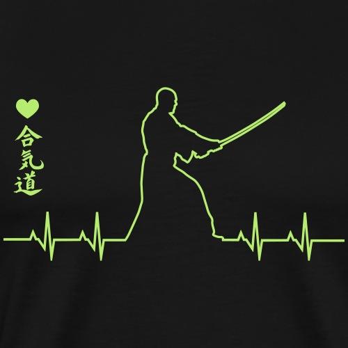aikido kamae - Camiseta premium hombre