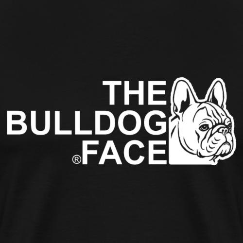 The Bulldog Face - französische Bulldogge - Männer Premium T-Shirt