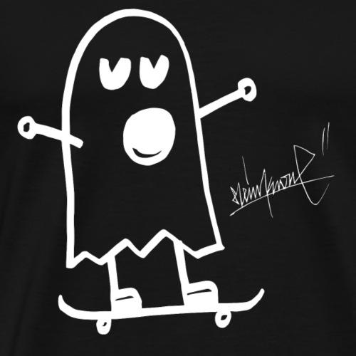 Ghost skateboard steinkrone - Männer Premium T-Shirt