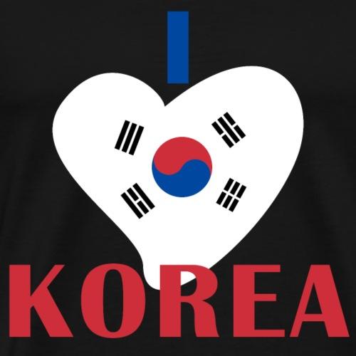 I Heart Korea - Männer Premium T-Shirt