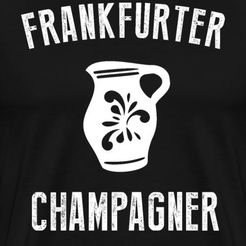 Ebbelwoi Frankfurt Hessen T-Shirt Geschenk 069 ffm - Männer Premium T-Shirt