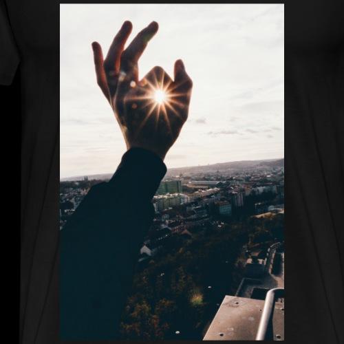 Sonnenfinger - Männer Premium T-Shirt