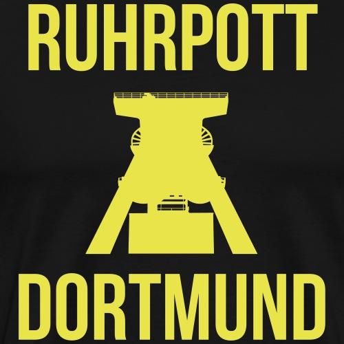 RUHRPOTT DORTMUND - Deine Ruhrpott Stadt - Männer Premium T-Shirt