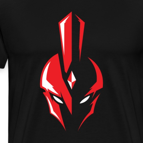 WARRIORS ESPORTS - LOGO OFFICIEL RED HEAD - T-shirt Premium Homme