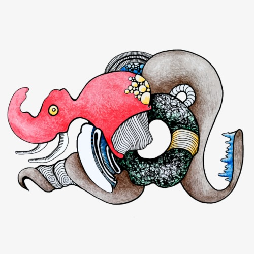 als die Elefanten aus der Tiefsee kamen - Männer Premium T-Shirt