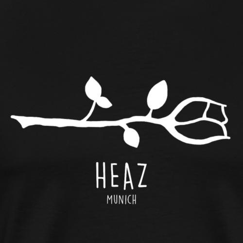 Rose minimalistisch - Männer Premium T-Shirt