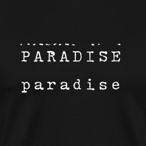 paradiseorg - Männer Premium T-Shirt