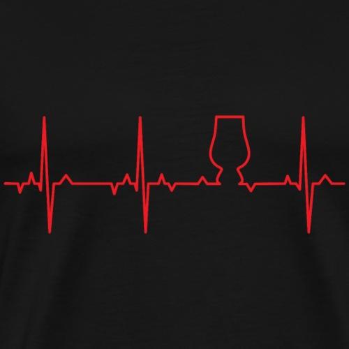 ECG Whisky Glencairn Glass - Men's Premium T-Shirt