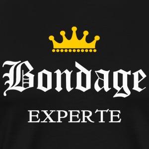 Bondage Experte - Männer Premium T-Shirt
