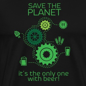 Save the planet - Maglietta Premium da uomo