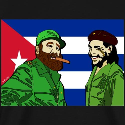 Fidel & Che Tee - Men's Premium T-Shirt