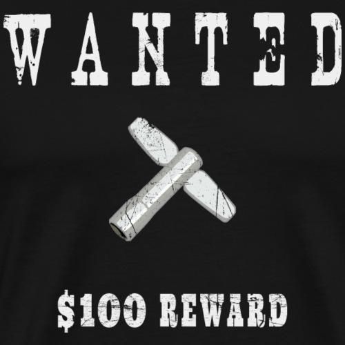 Wanted - Drumkey - Drummer T-Shirt - Männer Premium T-Shirt
