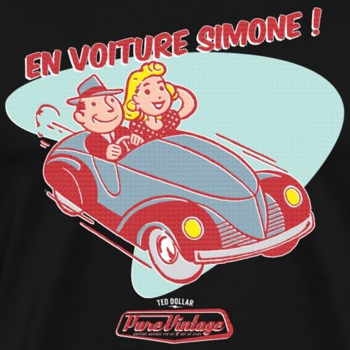 En voiture Simone - T-shirt Premium Homme