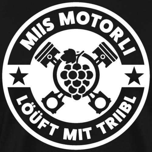 MIIS MOTORLI LÖÜFT MIT TRIIBL - Männer Premium T-Shirt