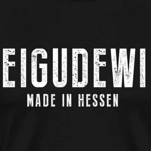 Ei Gude Wi Frankfurt iGude Hessen Geschenk Lustig - Männer Premium T-Shirt