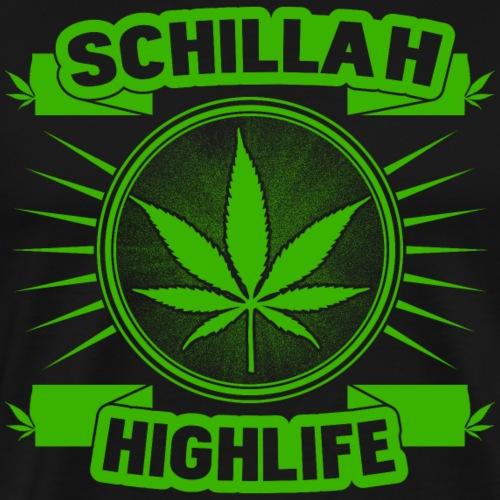 Schillah - Highlife Grün 01 - Männer Premium T-Shirt