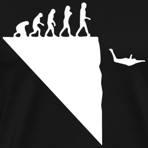 Base Jumping T-shirt - Herre premium T-shirt