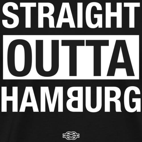 Straight outta Hamburg - Männer Premium T-Shirt