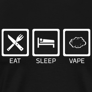 Eat Sleep Vape - Männer Premium T-Shirt