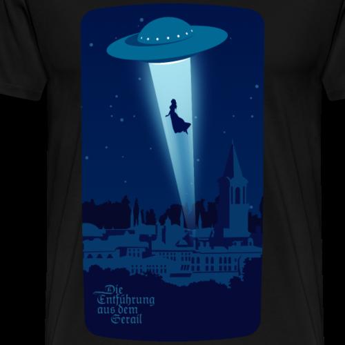 Die Entführung aus dem Serail: Konstanze UFO - Maglietta Premium da uomo