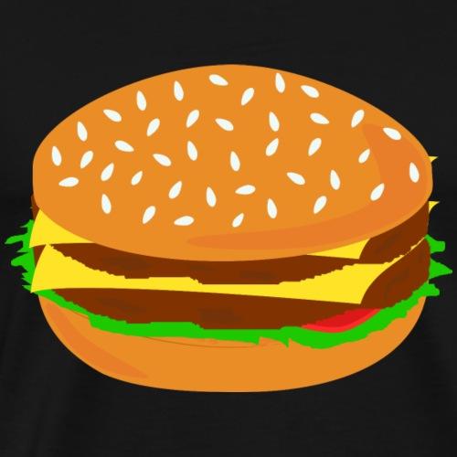 Burger BBQ Foodie Essen Geschenk Geschenkidee - Männer Premium T-Shirt