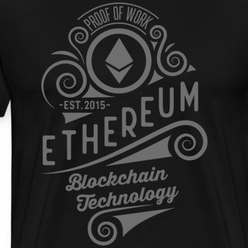 Ethereum - Herre premium T-shirt