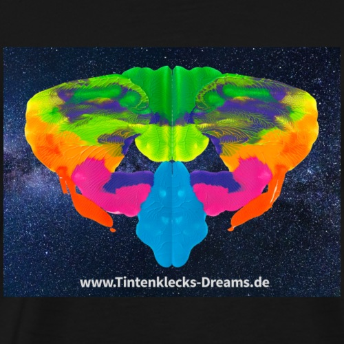 Tintenklecks-Dreams 2948 Motiv Seite 16, Galaxy - Männer Premium T-Shirt