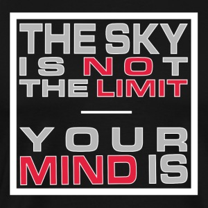 No Limit Mind - Premium T-skjorte for menn
