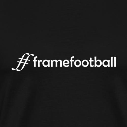 Hashtag Framefootball (white) - Men's Premium T-Shirt