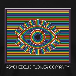 psychedelic flower company - T-shirt Premium Homme