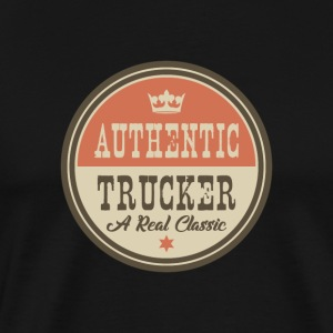AUTHENTIC TRUCKER - DRIVER / MOTOR DRIVER - Men's Premium T-Shirt