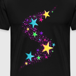 Star - Colors - Männer Premium T-Shirt