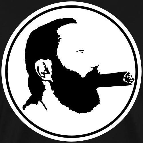 Bear & Cigar - Mannen Premium T-shirt