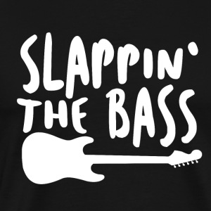 Slappin The Bass - Musik! - Herre premium T-shirt