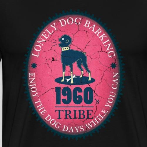 Dog Days red - Men's Premium T-Shirt