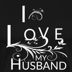 My Husband Is The Best - Men's Premium T-Shirt
