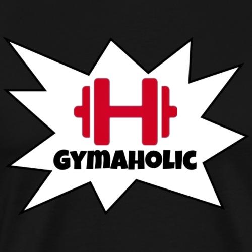 Gymaholic Men - Männer Premium T-Shirt