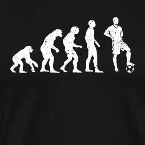 Evolution Soccer! - Herre premium T-shirt