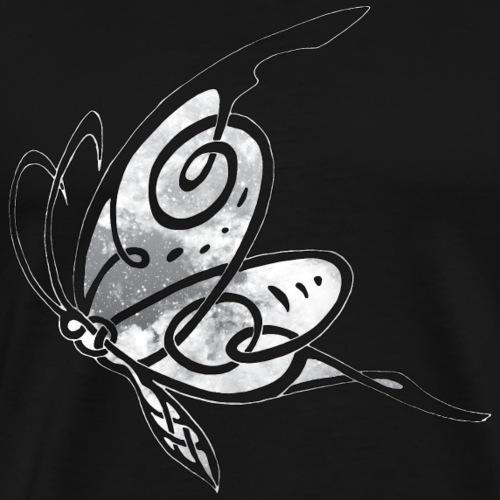 papillon celtic etoiles blanche - T-shirt Premium Homme