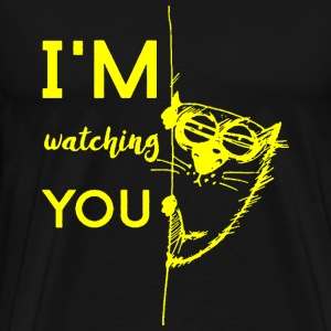 Watching you - Men's Premium T-Shirt