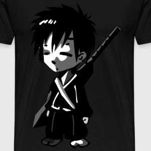 young Samurai - Men's Premium T-Shirt