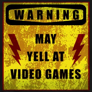 Gamer Warning - Men's Premium T-Shirt