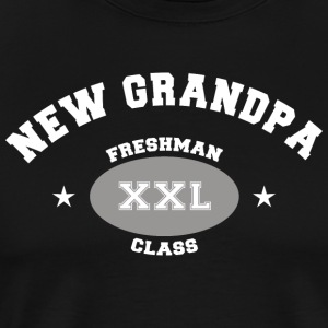 New Grandpa Personalize with Date or Name - Men's Premium T-Shirt