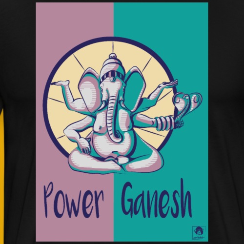 Power Ganesh - T-shirt Premium Homme