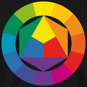 color theory - Men's Premium T-Shirt