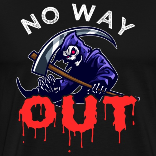 Grim Reaper No Way Out - Männer Premium T-Shirt