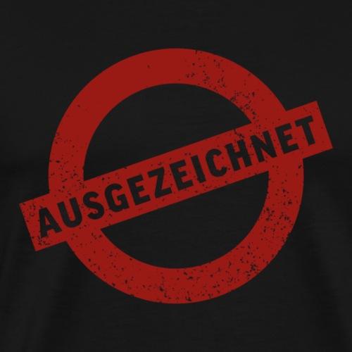 Stempel Ausgezeichnet - Männer Premium T-Shirt