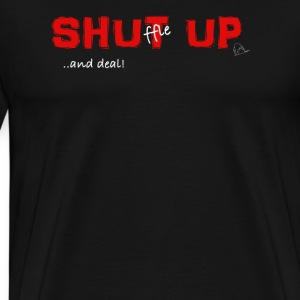 Shuffle up and deal! Poker T-Shirt - Men's Premium T-Shirt