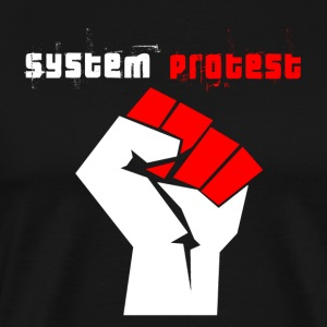 system protest - Men's Premium T-Shirt
